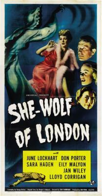 SHE-WOLF OF LONDON (1946, Jean Yarbrough) | CINEMA DE PERRA GORDA
